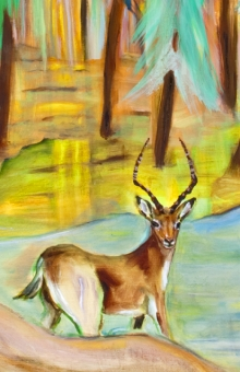 Deer In Swan River (crop) oil