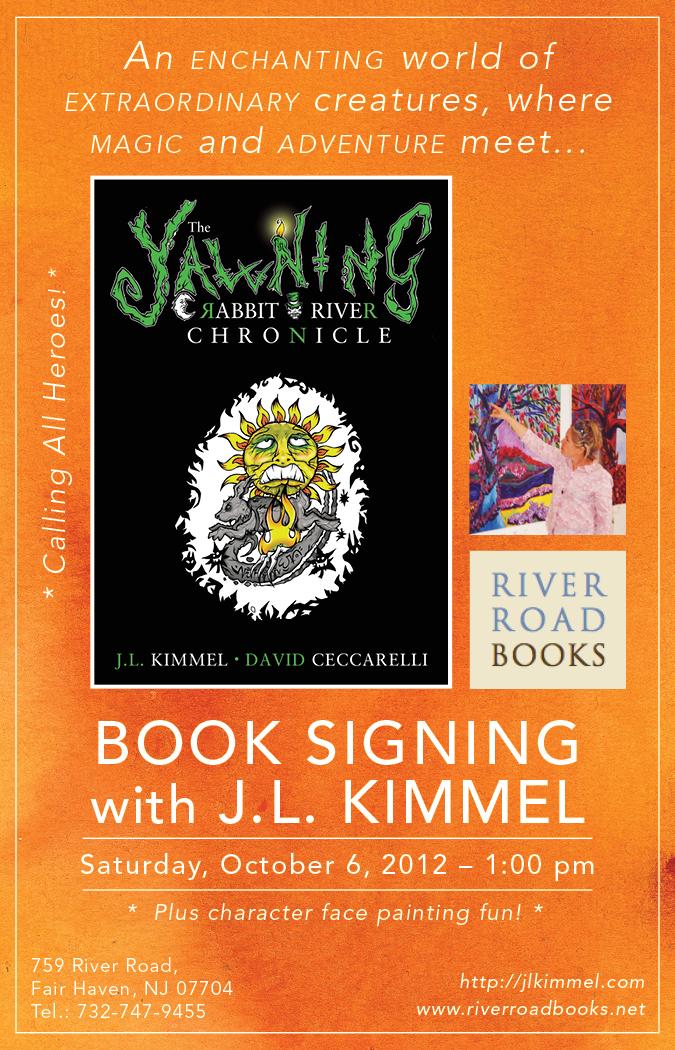 What's New - JLKimmel com - Award Winning Author of the