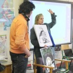 David and Janine At Castlegregory School
