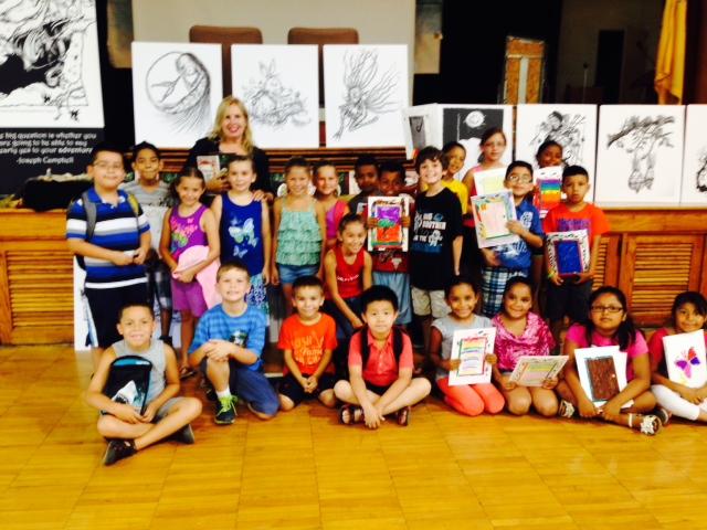 July 23 return visit Keyport School Summer Enrichment Program Keyport, NJ to to the students stories and illustrations  http://www.kpsdschools.org/Domain/9